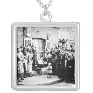 Jubilee Decoration in the East End Silver Plated Necklace