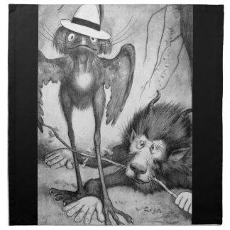 Jubjub Bird and the Bandersnatch Napkins
