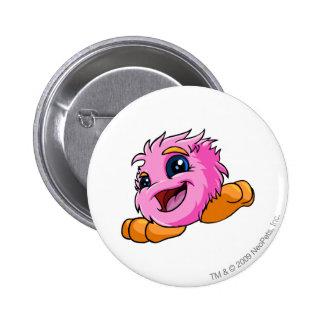 JubJub Pink 6 Cm Round Badge