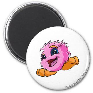 JubJub Pink 6 Cm Round Magnet