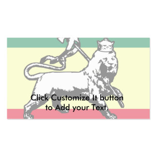 Judah Lion, Estonia flag Business Card Template