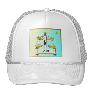 Judaica 12 Tribes Israel Dan Mesh Hats