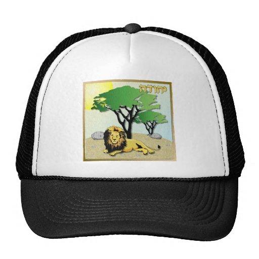 Judaica 12 Tribes Israel Judah Trucker Hat