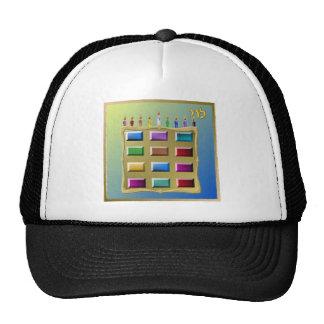 Judaica 12 Tribes Israel Levi Trucker Hat