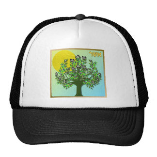 Judaica 12 Tribes Of Israel Asher Hats
