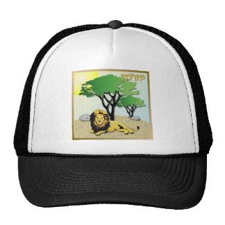 Judaica 12 Tribes Of Israel Judah Mesh Hat
