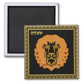 Judaica 12 Tribes of Israel Magnet - Iuda