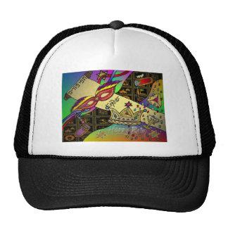 Judaica Happy Purim Jewish Holiday Gifts Apparel Trucker Hats