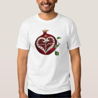 Judaica Pomegranate Heart Hanukkah Rosh Hashanah Tshirts