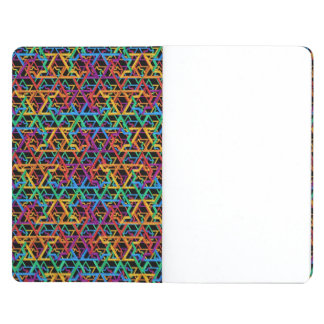 Judaica Rainbow Stars of David Poket Notebook