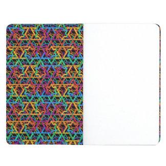 Judaica Rainbow Stars of David Poket Notebook Journals