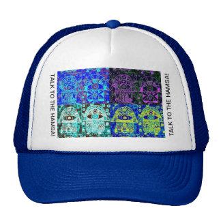 Judaica Talk To The Hamsa Trucker Hat