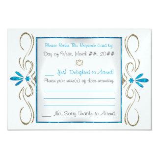 Judaism Flourishes (Response Card) 9 Cm X 13 Cm Invitation Card