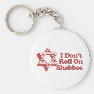 Judaism Roll Shabbos Keychains