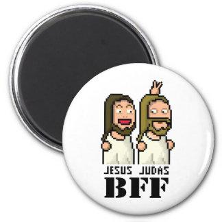 Judas 6 Cm Round Magnet