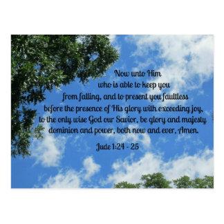 Jude 1:24-25 postcard