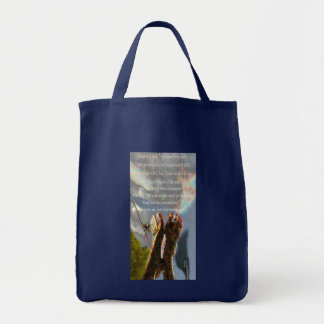 Judge and Truth Grocery Tote Bag
