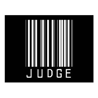 Judge Bar Code Postcard