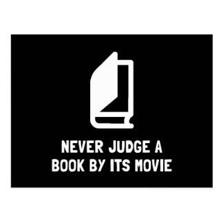Judge Book Postcard