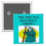 JUDGE joke Pinback Button