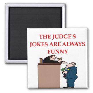 judge jokes magnet