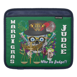 Judge Mardi Gras 30 colors Important view notes Sleeves For iPads