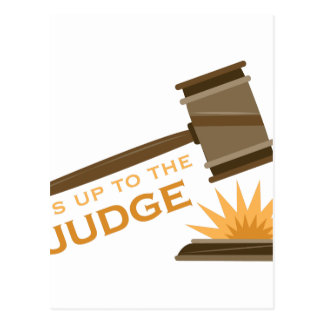 Judge Postcard