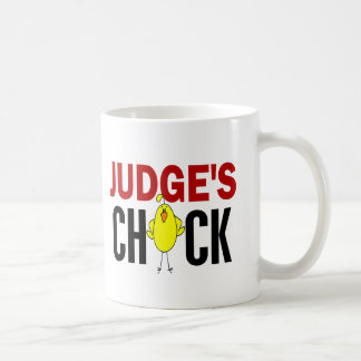 JUDGE'S CHICK BASIC WHITE MUG