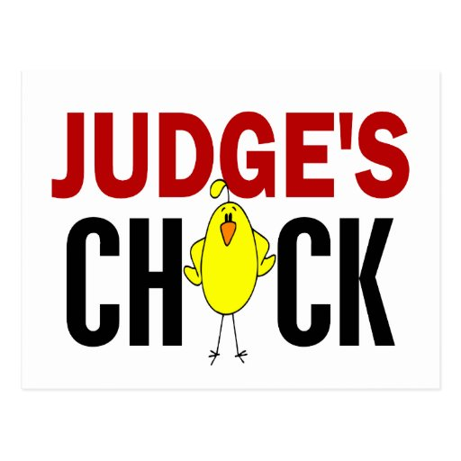 JUDGE'S CHICK POST CARDS