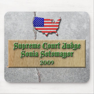 Judge Sotomayor #2 mousepad
