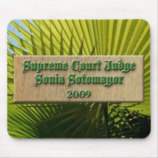 Judge Sotomayor 2 mousepad