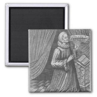 Judge Thomas Littleton, 1628 Square Magnet