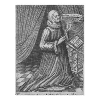 Judge Thomas Littleton, 1628 Postcard
