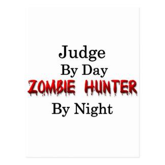 Judge Zombie Hunter Postcard