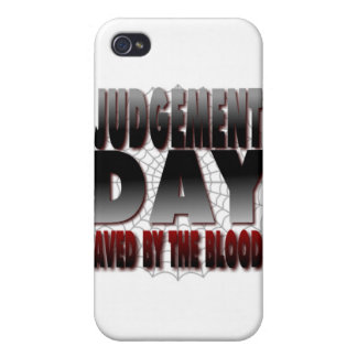 Judgement Day Saved By The Blood Covers For iPhone 4