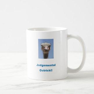 Judgemental Ostrich!!! Coffee Mug