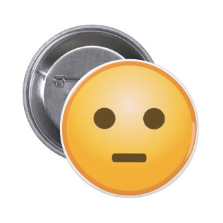 Judging Emoji 6 Cm Round Badge