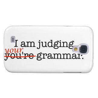 Judging Your Grammar Samsung Galaxy S4 Cases