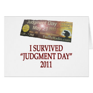 JUDGMENT copy Greeting Card
