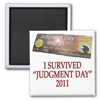 JUDGMENT copy Fridge Magnet