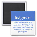Judgment Square Magnet