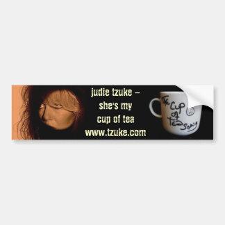 Judie Tzuke - Cup of Tea Song - Bumper Sticker