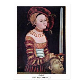 Judith By Lucas Cranach (I) Postcard