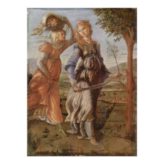 Judith Leaving the Tent of Holofernes Poster