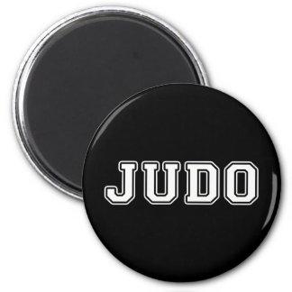 Judo 6 Cm Round Magnet