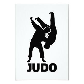 Judo 9 Cm X 13 Cm Invitation Card