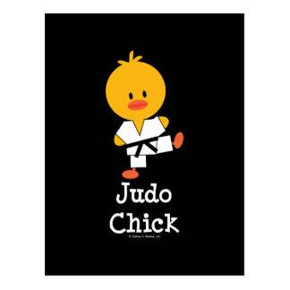 Judo Chick Postcard