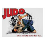 Judo Choke Out Poster