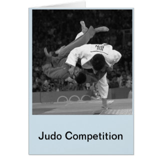 Judo Competition 2 Card