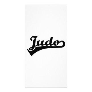 Judo Customised Photo Card
